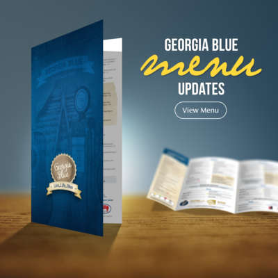 2018 Georgia Blue Menu