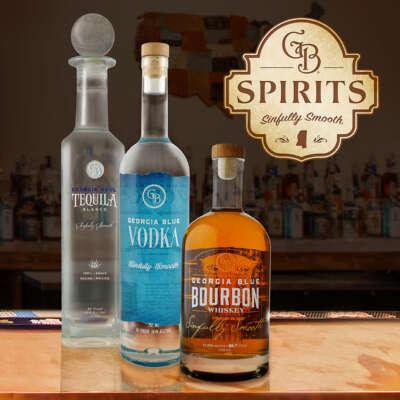 GB Spirits Bottle Design