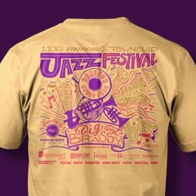 2019 Jazz Festival Shirt