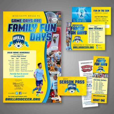 """Family Fun Days"" Season Graphics"