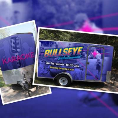 Bullseye Entertainment Vehicle Wrap