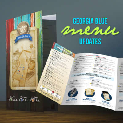 2016 Georgia Blue Menu