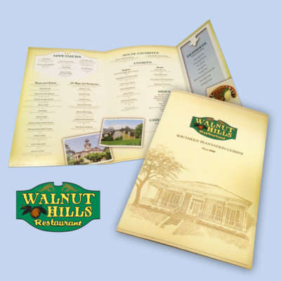 Walnut Hills Menu