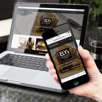 Ely's Restaurant Website