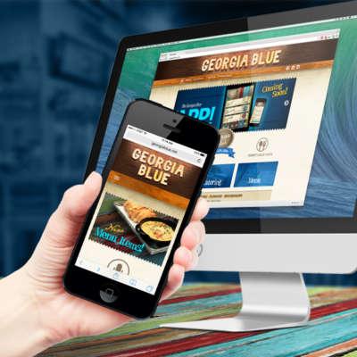 Georgia Blue Website