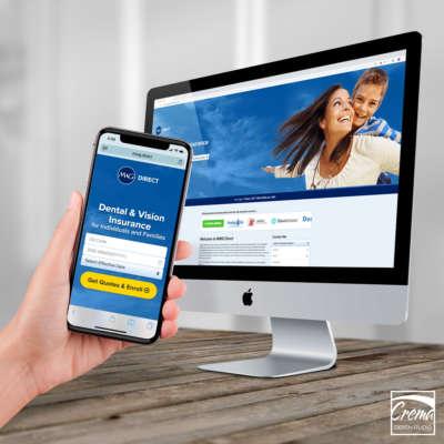 MWG Direct Enrollment Website